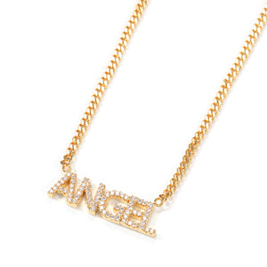 CUSTOM Name Necklace │ Studded