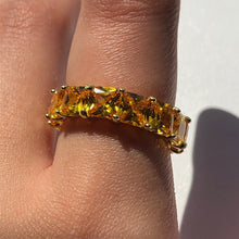 Load image into Gallery viewer, PRINCESS Gold Band Ring