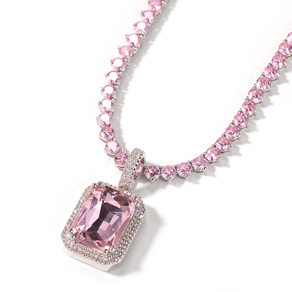 GEM Necklace |All Pink (PRE-ORDER)