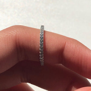 DAINTY Silver Band Ring