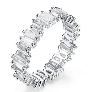 EDGY Silver Band Ring