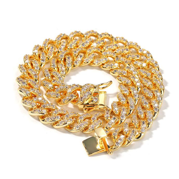 GOLD Cuban Link Necklace |12MM (PRE-ORDER)