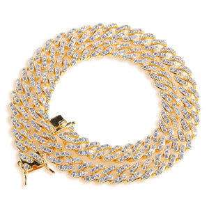 GOLD Cuban Link Necklace |9MM