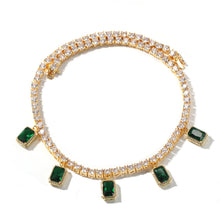 Load image into Gallery viewer, GEM Choker |Emerald (PRE-ORDER)