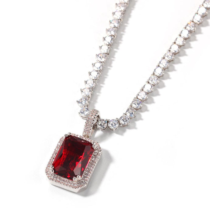 GEM Necklace |Ruby (PRE-ORDER)