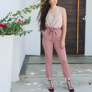 ROSE TIED PANTS
