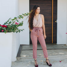 Load image into Gallery viewer, ROSE TIED PANTS