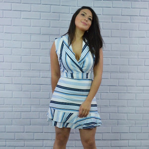 ALEXA STRIPES DRESS