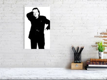 Load image into Gallery viewer, Tony Wilson, photographed in the basement of The Hacienda Manchester