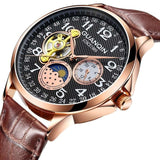 Mechanical Watches Strap Leather Style Luxury Model Number 73 - corkiwatch