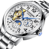 Mechanical Watches Strap Stainless Steel Style Luxury Model Number 71 - corkiwatch
