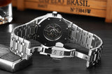 Mechanical Watches  Strap Stainless Steel Model Number 80 - corkiwatch