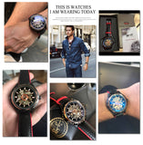 Mechanical wriswatches Style Mechanical Watches Model Number GMT 1009 - corkiwatch