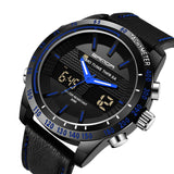 Men's Quartz Watches  Waterproof Style Luxury  Made from Leather and Stainless Steel Model 774 - corkiwatch