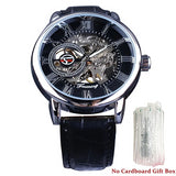 Mechanical Watches Strap Leather Model Number GMT 838 - corkiwatch
