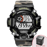 Men's Sports Watches  Style Digital Model 1385B - corkiwatch