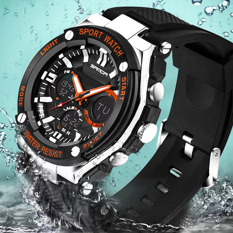 Men's Sport Watches Style Luxury and Digital Model 733 - corkiwatch