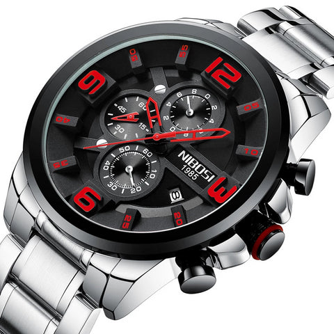 Men's  Quartz Watches Style Luxury made from Stainless Steel Model 2336 - corkiwatch
