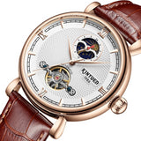 Mechanical Watches Strap Leather Model Number JYD-J031 - corkiwatch