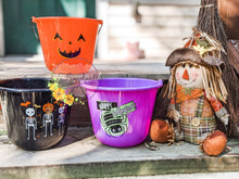 Load image into Gallery viewer, Personalized Trick-or-Treat Halloween Buckets
