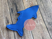 Load image into Gallery viewer, Shark Tail Ice Pop Koozie