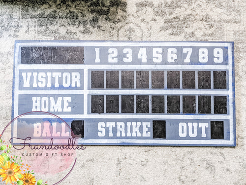Baseball/Softball Score Board