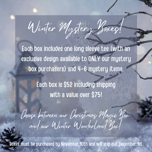 Winter Mystery Boxes