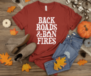 Load image into Gallery viewer, Back Roads & Bon Fires Tee