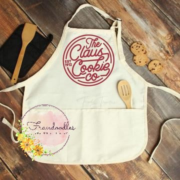 Claus Cookie Co. Apron