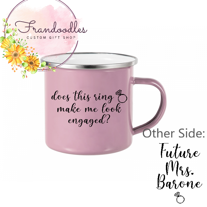 Does This Ring- Engagement Mug