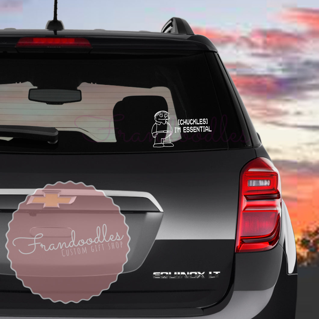 Chuckles Essential Vinyl Decal