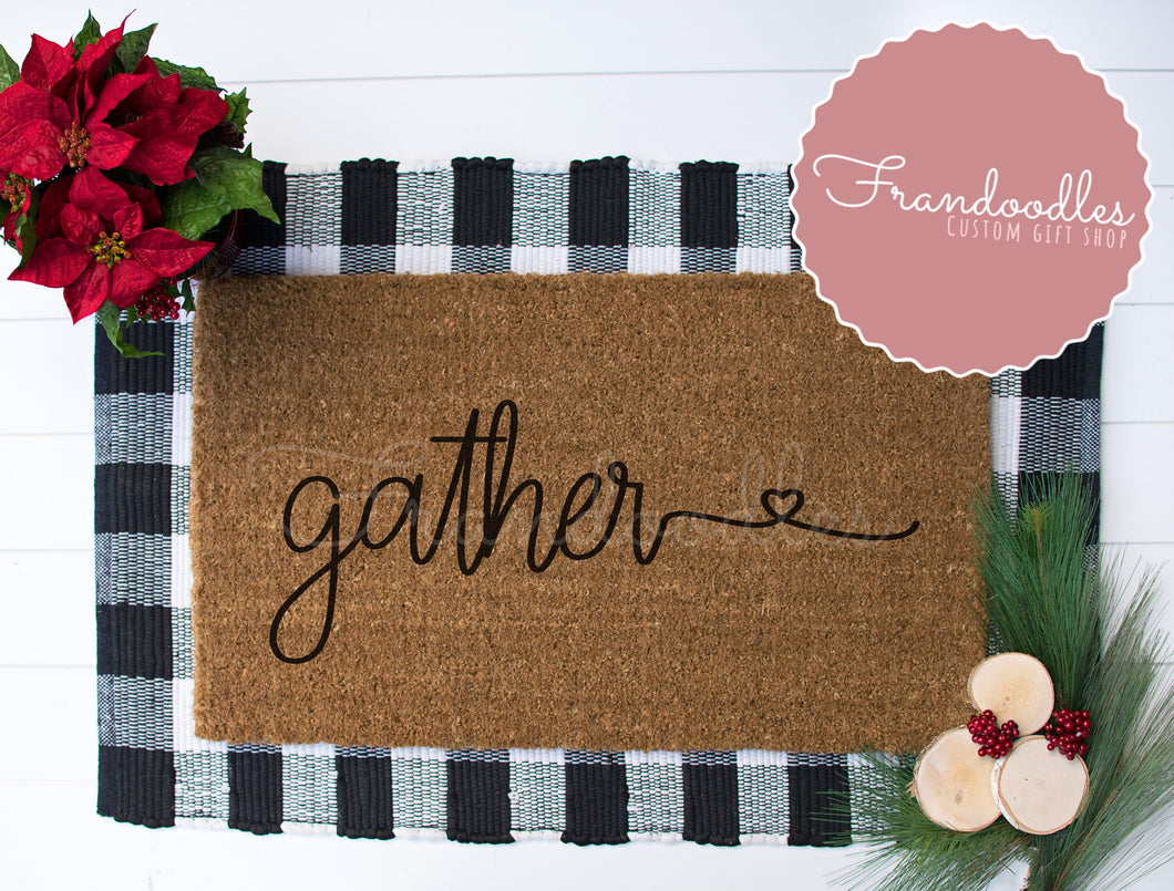 Gather Doormat