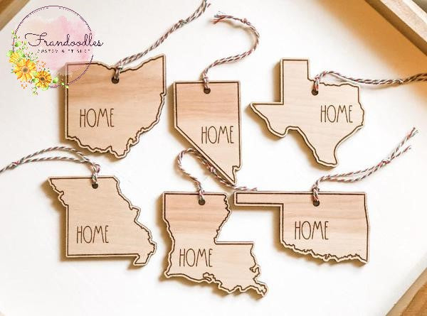 Home State Ornament