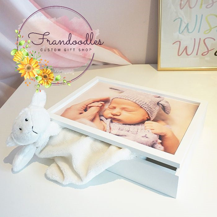 Wooden Keepsake Box with Image