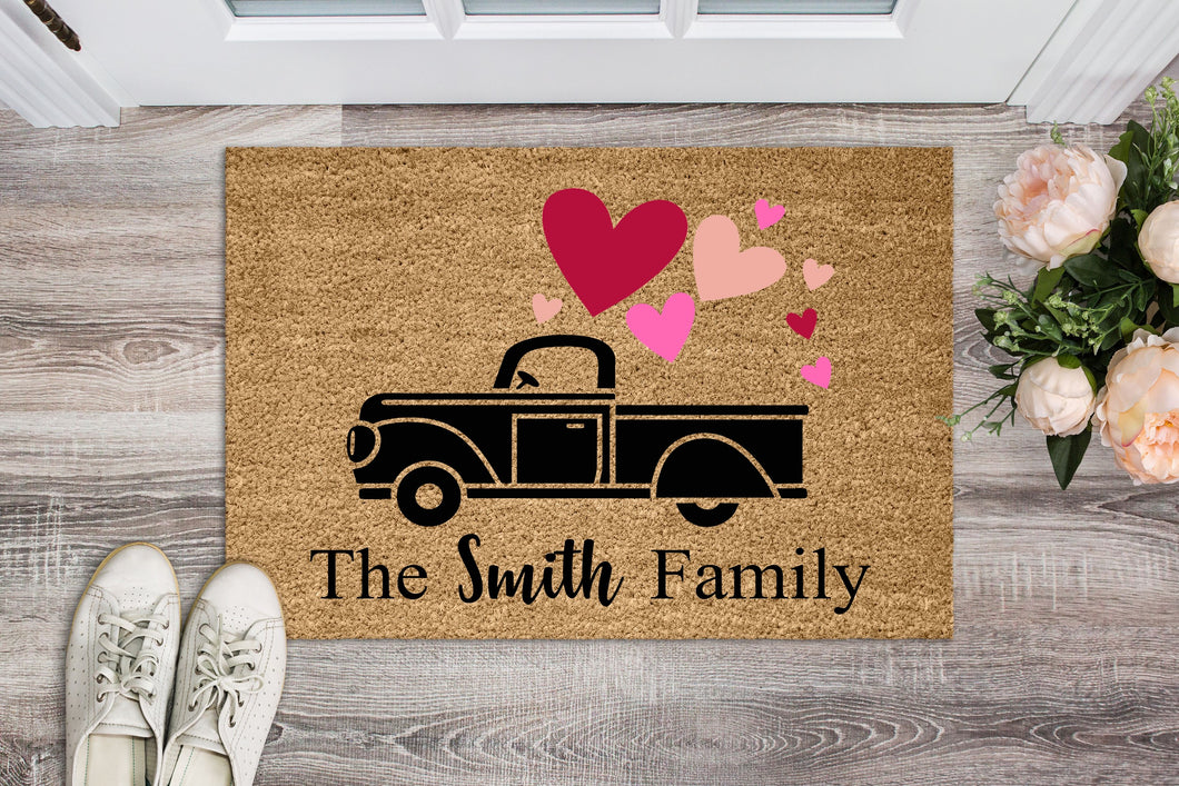 Loads Of Love Family Doormat