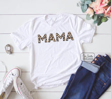 Load image into Gallery viewer, MAMA Leopard Tee
