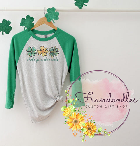 Shake Your Shamrocks Raglan Tee