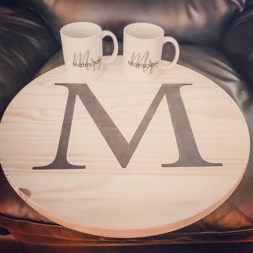 Lazy Susan and Mug Set