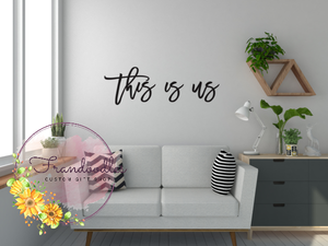 """This Is Us"" Wall Hang"