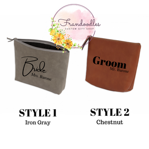 Engraved Toiletry Bags