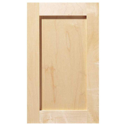 Shaker Unfinished Wood Cabinet Door