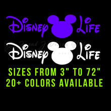 Load image into Gallery viewer, Disney Life Vinyl Decal