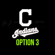 Load image into Gallery viewer, Cleveland Indians Vinyl Decal