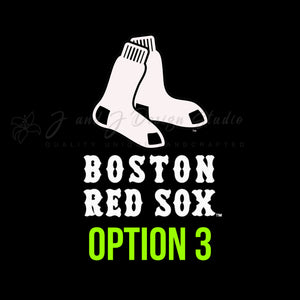 Boston Red Sox Vinyl Decal