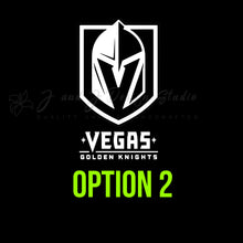 Load image into Gallery viewer, Las Vegas Golden Knights Vinyl Decal Vinyl Decal