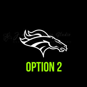 Denver Broncos Vinyl Decal Vinyl Decal