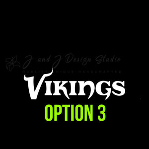 Minnesota Vikings Vinyl Decal
