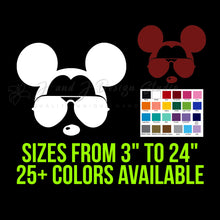 Load image into Gallery viewer, Mickey Mouse in Sunglasses Vinyl Decal