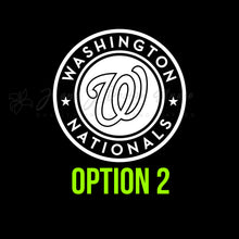 Load image into Gallery viewer, Washington Nationals Vinyl Decal