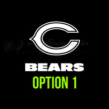 Load image into Gallery viewer, Chicago Bears Vinyl Decal Vinyl Decal